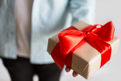 man with a gift